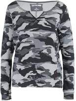 True Religion CAMO Sweatshirt black