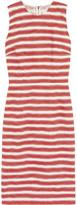Dolce & Gabbana Striped cotton-blend jacquard dress