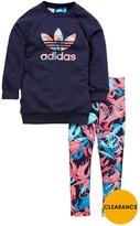 adidas Toddler Girls Sweat/legging Set