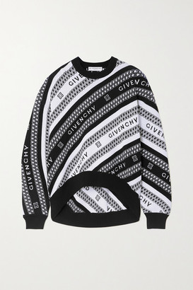 Givenchy - Intarsia Wool Sweater - Black