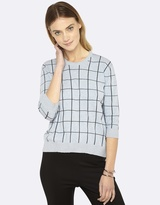 Oxford Lucy Metallic Trim Knit