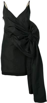 No.21 oversized bow detail dress