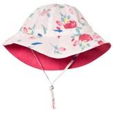 Petit Bateau Pink Floral Sun Hat