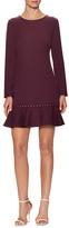 Shoshanna Embellished Flare Dress
