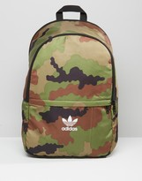 Adidas Originals Backpack In Camo Ay7760