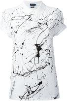 Polo Ralph Lauren paint print top - women - Cotton - XS