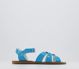 Salt-Water Salt Water Original Sandals Turquoise Patent