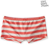 Aeropostale Womens Rugby Stripe Boyshort Underwear
