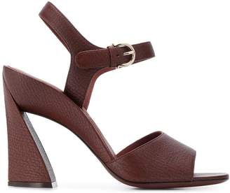 Salvatore Ferragamo Aede sculpted heel sandals