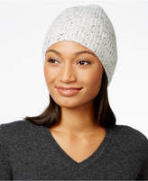 Charter Club Cashmere Donegal-Knit Hat, Created for Macy's