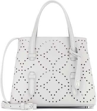 Alaia Mina Mini embellished leather tote