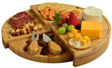 Picnic at Ascot Florence Transforming Bamboo Cheese Board Set w/ 2 Tools