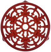 Chasseur Fleur De Lys Trivet - Red