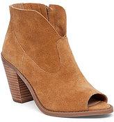 Jessica Simpson Chalotte Peep-Toe Ankle Boots