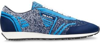Prada Low-Top Fabric Sneakers