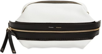 Proenza Schouler Bi Color Leather & Snakeskin Belt Bag