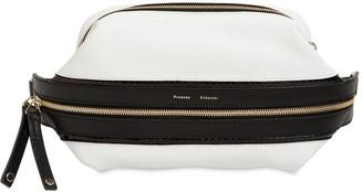 Proenza Schouler Bi Color Leather & Snakeskin Belt Bag