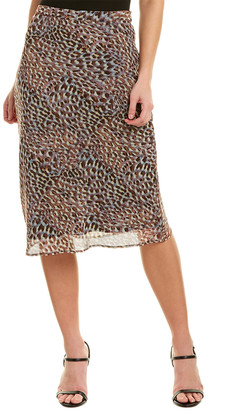 Lavender Brown Skirt