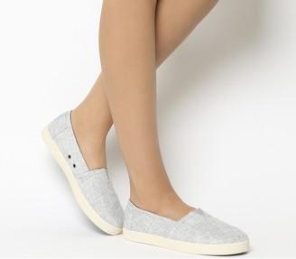 Toms Avalon Sneakers Drizzle Grey Metallic