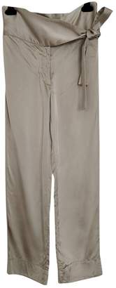 Forte Forte Forte_forte Silver Trousers for Women