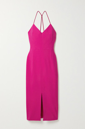 Roland Mouret Cannock Stretch-crepe Midi Dress