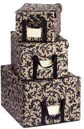 Reisenthel Large Fabric Storage Box Baroque Taupe