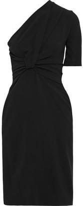 Stella McCartney Maia One-shoulder Twist-front Stretch-crepe Dress