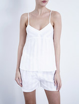 Bodas Shadow Stripe cotton camisole