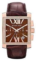 Michael Kors MK5675 Leather Band Rose Gold Women's Watch