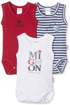 Absorba Baby Boys' 3 Bodies SM Bebe Mignon Bodysuit (Pack of 3),(Manufacturer Sizes: 6 Months)
