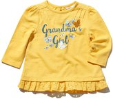 M&Co Grandma's girl slogan frill hem top
