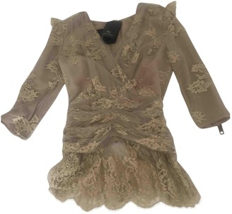Burberry Beige Lace Top for Women