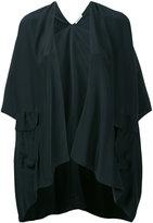 P.A.R.O.S.H. 'Sibel' cape - women - Silk - S