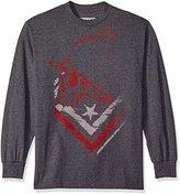Metal Mulisha Men's Plus Size Winded Long Sleeve Shirt