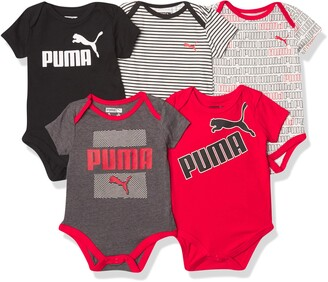 Puma Boys' Short Sleeve Bodysuits
