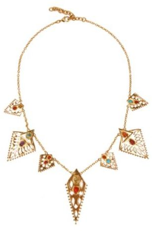 Lucky Brand Multi Triangle Necklace
