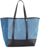 See by Chloe Andy Denim Tote Bag, Blue