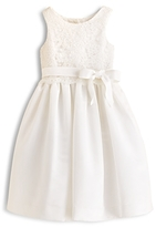 Us Angels Girls' Lace Overlay Dress - Big Kid