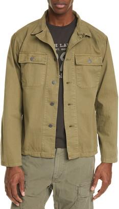 Ralph Lauren RRL Curtis Military Shirt Jacket