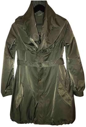 Rare Green Cotton Jacket for Women