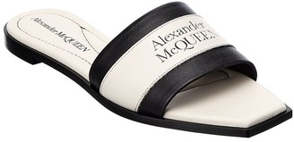 Alexander McQueen Signature Leather Sandal