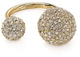 Kate Spade Pavé Double Sphere Ring