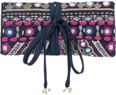 Accessorize Sequoia Embellished Jewellery Roll Bag