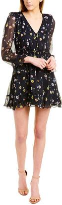 The Kooples Bleu J'espere Mini Dress