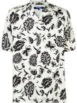 Junya Watanabe Comme Des Garçons - short-sleeve floral shirt - men - Cupro/Rayon - S