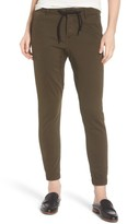 DL1961 Women's Gwen Crop Twill Jogger Pants