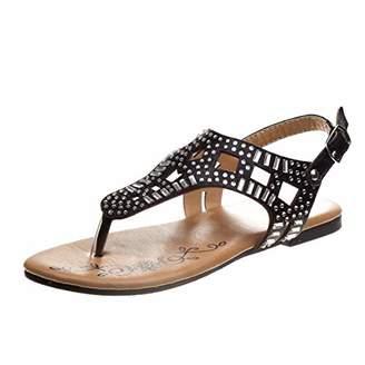 Josmo Girls' Lilly Flat Sandal