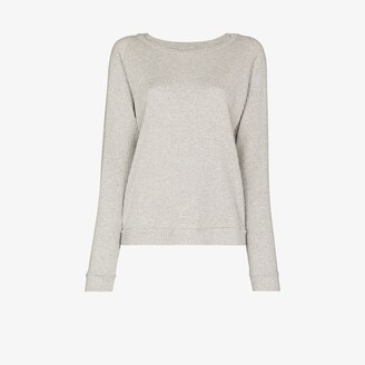 Base Range Crew neck ribbed sweatshirt