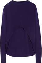 Opening Ceremony Elliptical Cropped Wool Sweater