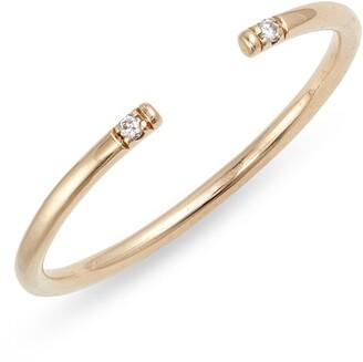 Jennie Kwon Designs Diamond Open Band Ring